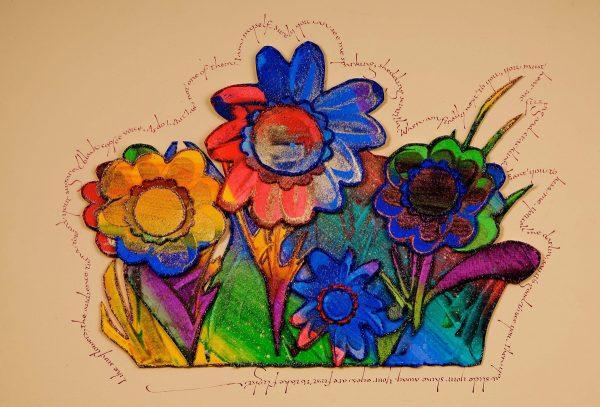 Sunflower Audience by Pattie Palmer Baker